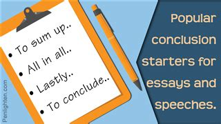 How to make good essay conclusion